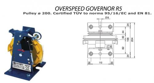 Over Speed Governor R5