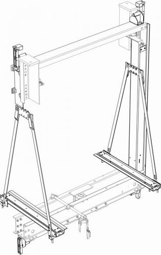 WHF35 - Hydraulic car frame