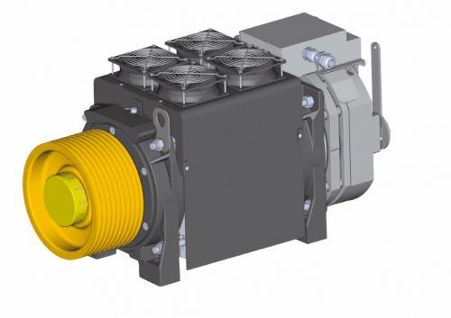 G300 T2 con carter ventilazione