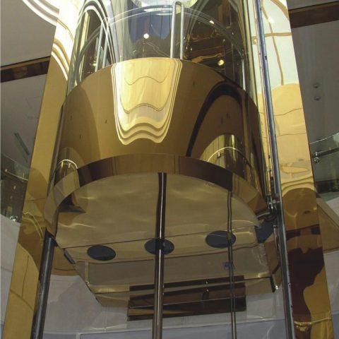 Cabin Hydraulic Panorama Gold Ardh AlRafidain