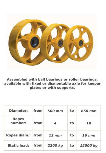 Diverter Pulley for High Static Load