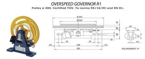 Over Speed Governor R1