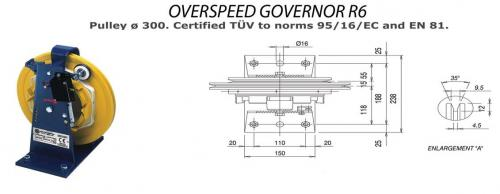 Over Speed Governor R6
